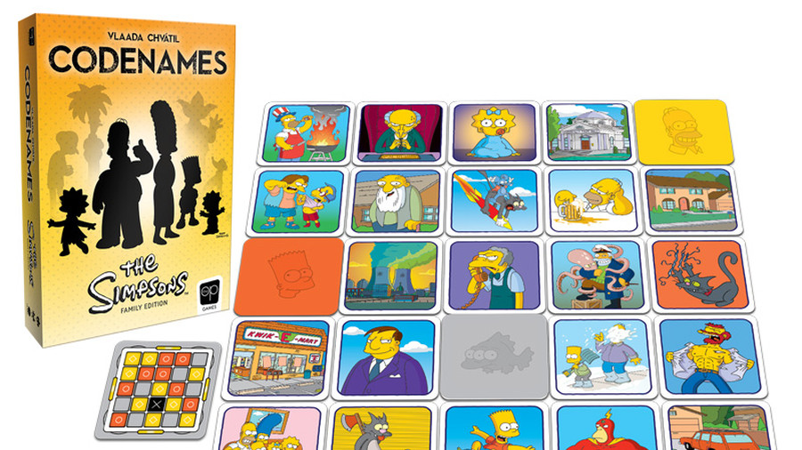 Codenames: rilasciata in America l'edizione de I Simpson thumbnail