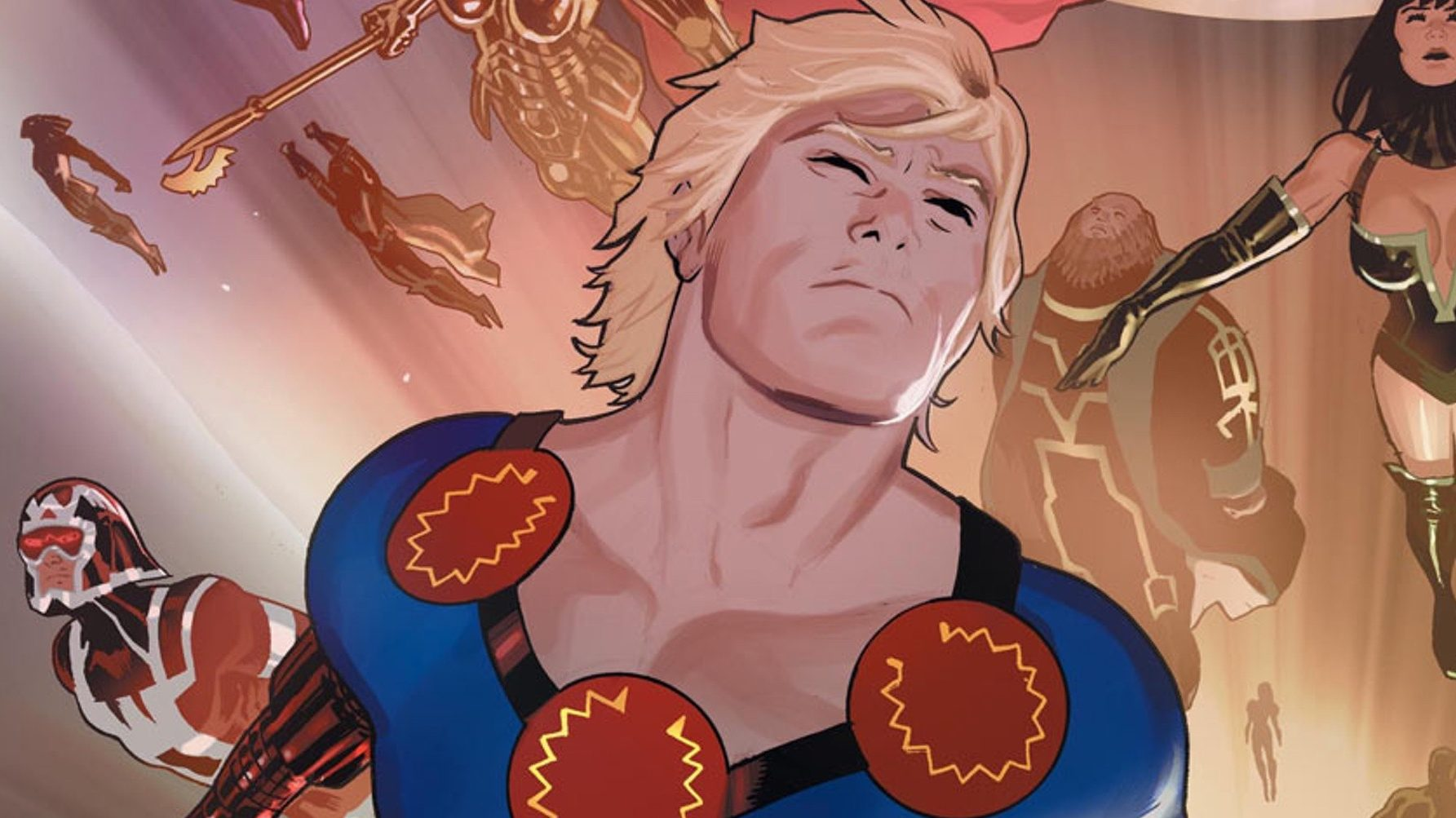 Gli Eterni: concluse le riprese del film Marvel! thumbnail