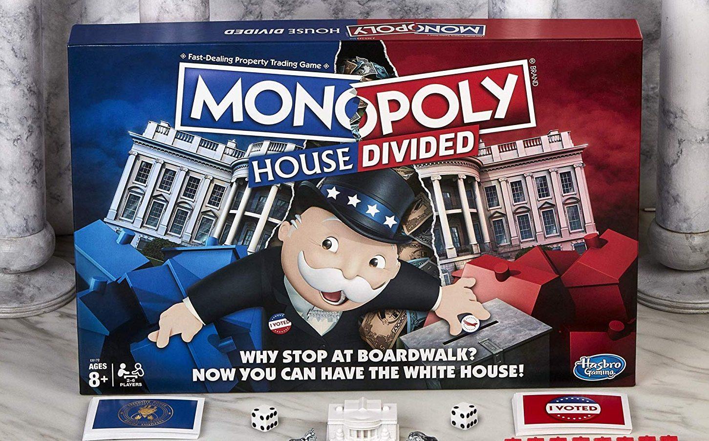 Monopoly House Divided, l'edizione per l'anno delle elezioni thumbnail
