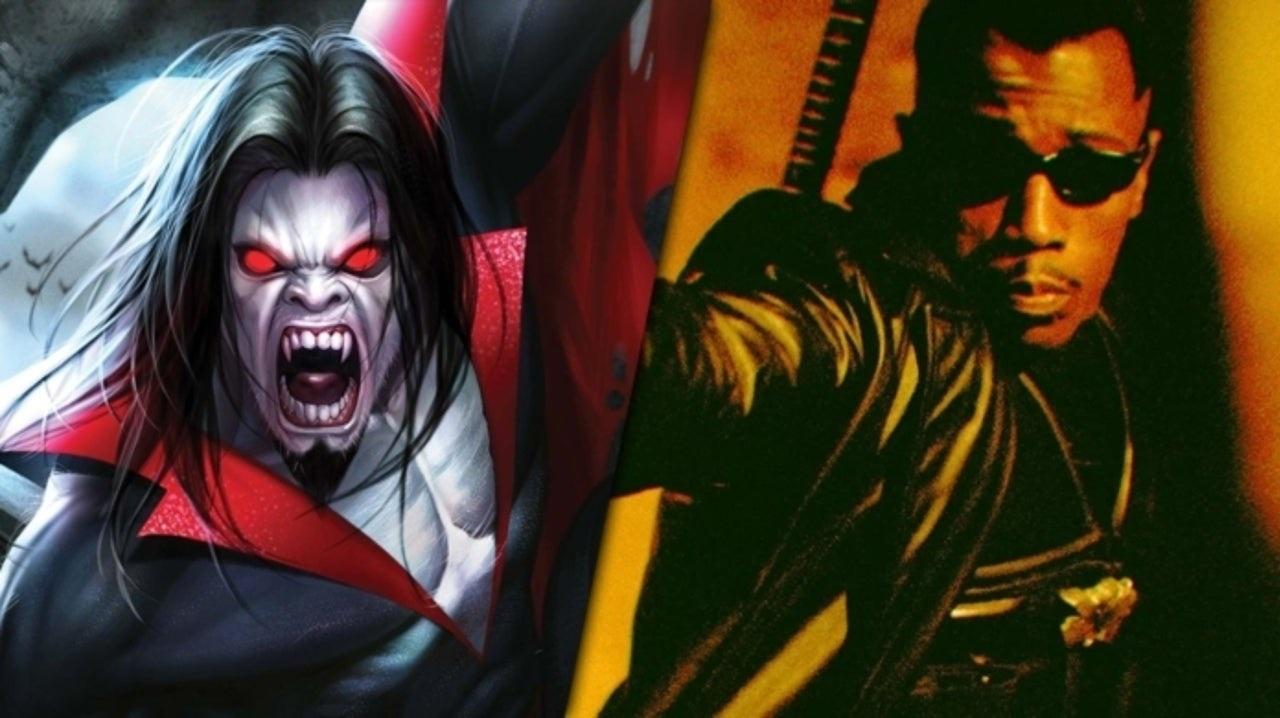 Morbius: il vampiro doveva comparire nei film di Blade thumbnail