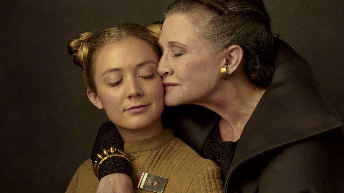 Star Wars 9: la figlia di Carrie Fisher ha avuto un ruolo segreto thumbnail