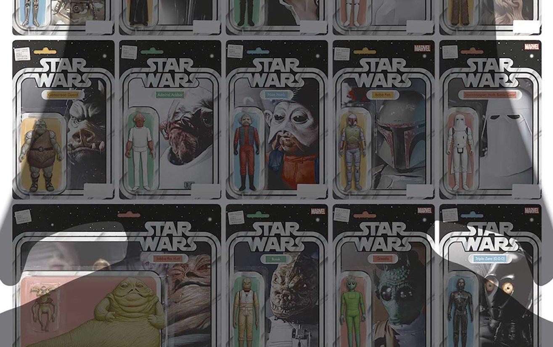 Marvel annuncia un albo di Star Wars formato da sole variant cover! thumbnail