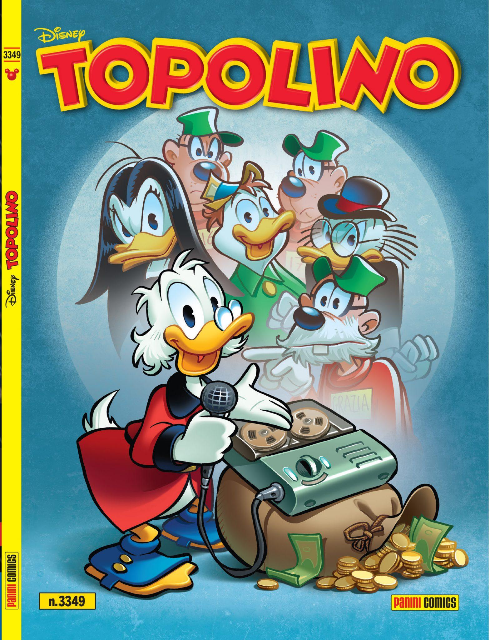 Topolino omaggia Vincenzo Mollica con il ritorno di Paperica thumbnail