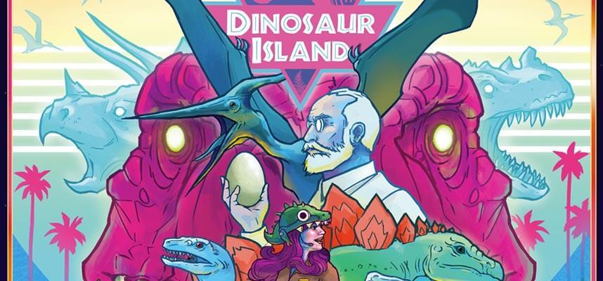 Dinosaur Island: il nuovo gioco da tavolo di Ghenos Games thumbnail