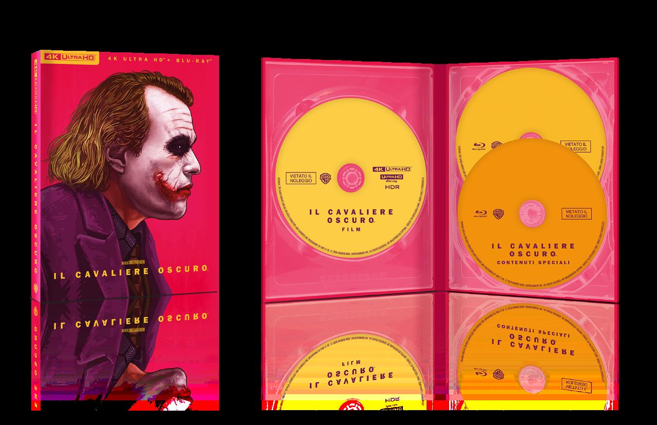 uscite dvd batman nolan trilogia home video art edition