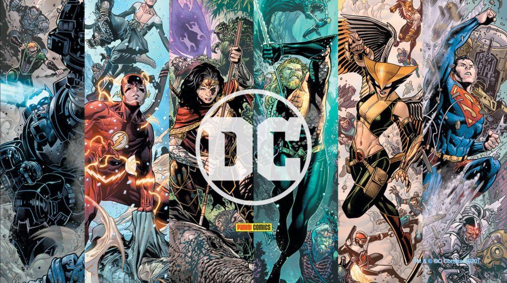 Panini posticipa il lancio degli albi DC Comics thumbnail