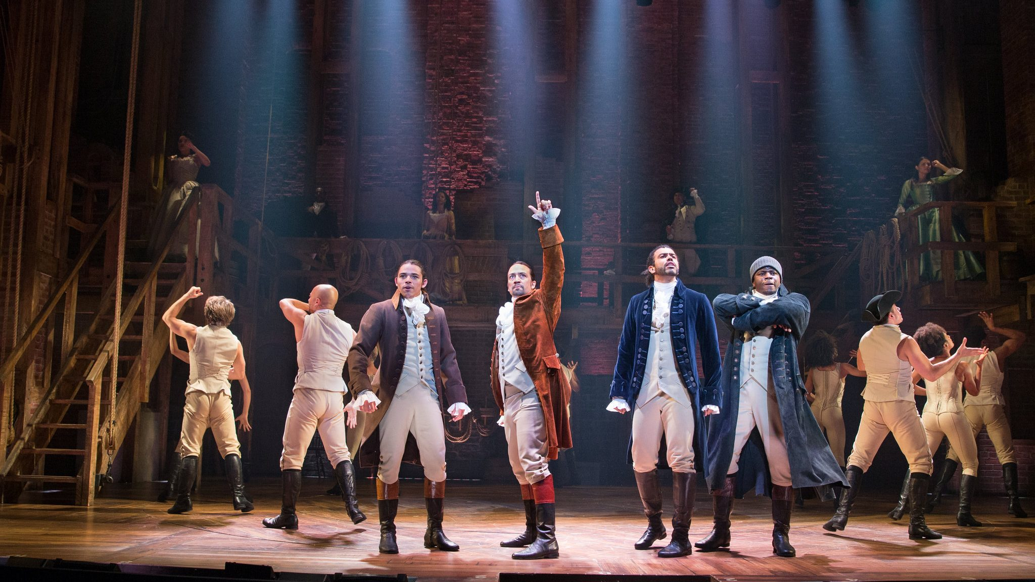 Hamilton: l'amatissimo musical arriverà al cinema! thumbnail