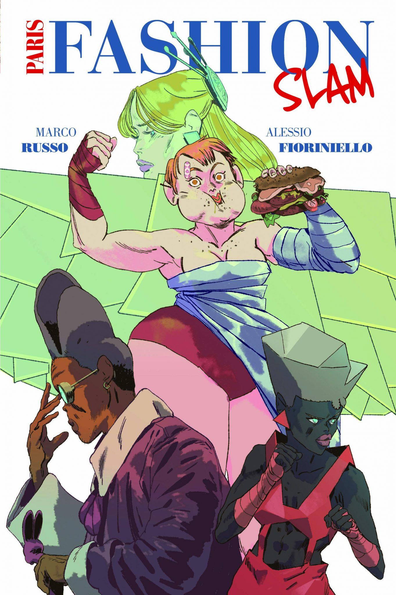 paris fashion slam panini comics