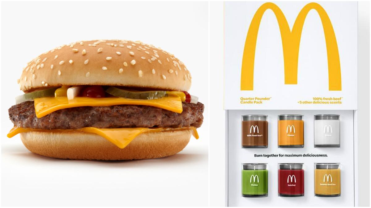 McDonald's lancia un set di candele al profumo di hamburger thumbnail