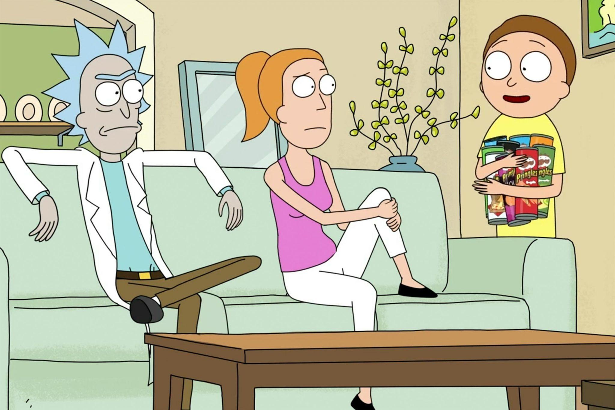 Rick and Morty, lo spot Pringles per il Super Bowl 2020 thumbnail
