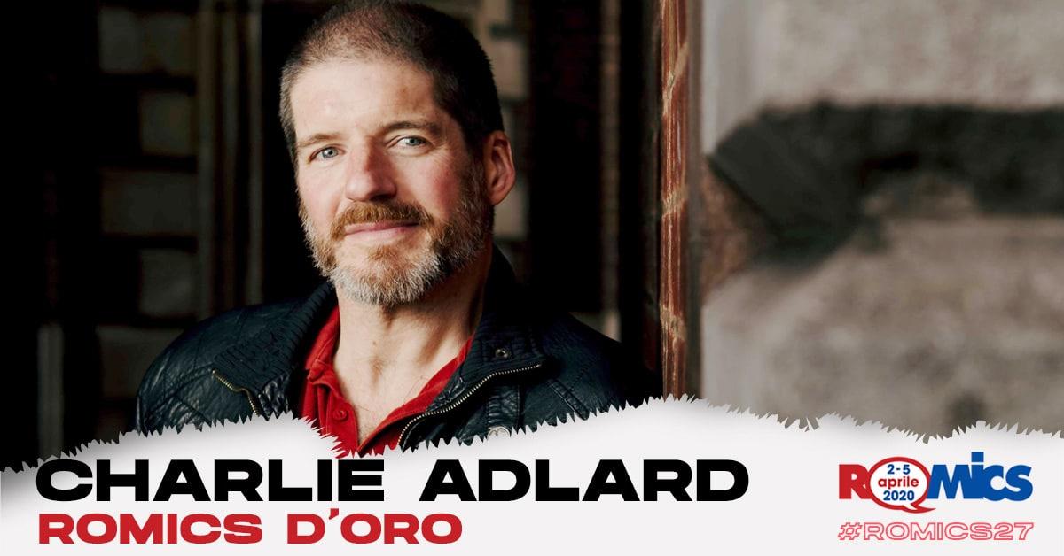 Romics D'oro 2020: Charlie Adlard vince il premio alla carriera thumbnail