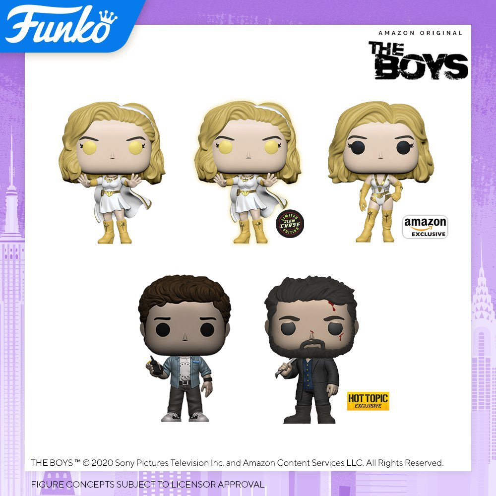 the boys funko pop