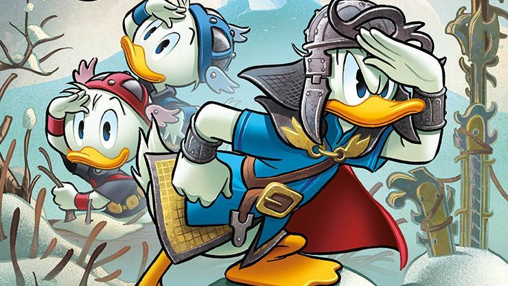 Donald Quest: torna su Topolino la saga fantasy con un gioco da tavolo! thumbnail