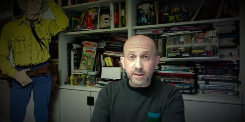 A casa con l'autore: inizia il ciclo di incontri digitali di Sergio Bonelli Editore thumbnail