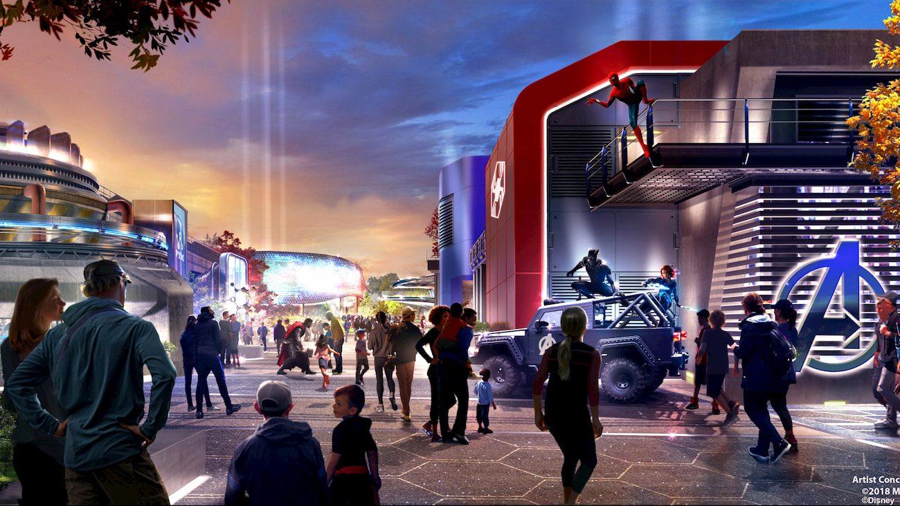 L'Avengers Campus aprirà nel 2021 thumbnail