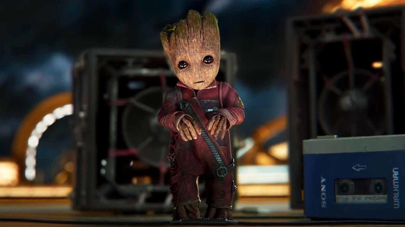 James Gunn 'interpreta' Groot in un video di backstage thumbnail