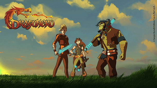 dragonero serie tv animata bonelli rai