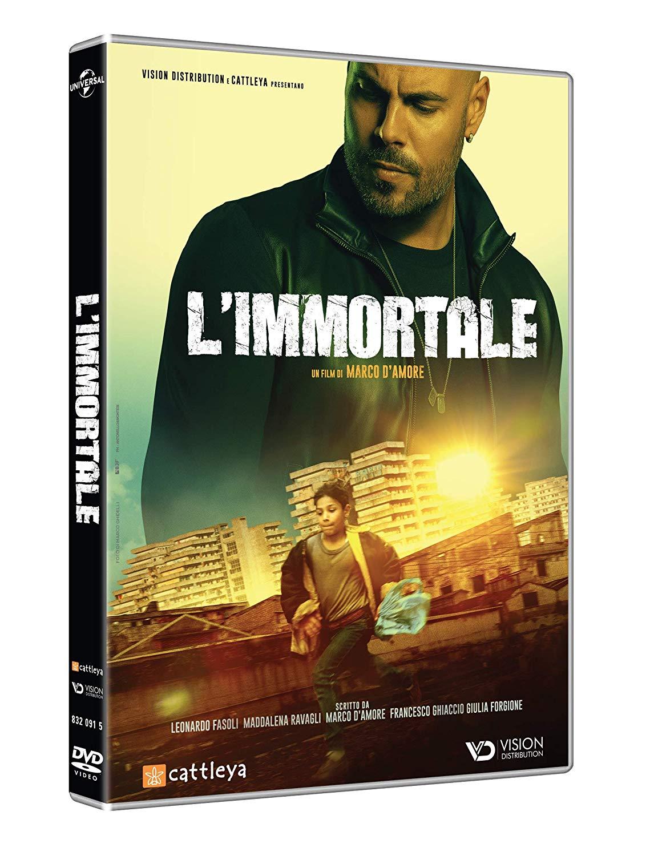 l'immortale dvd blu-ray gomorra