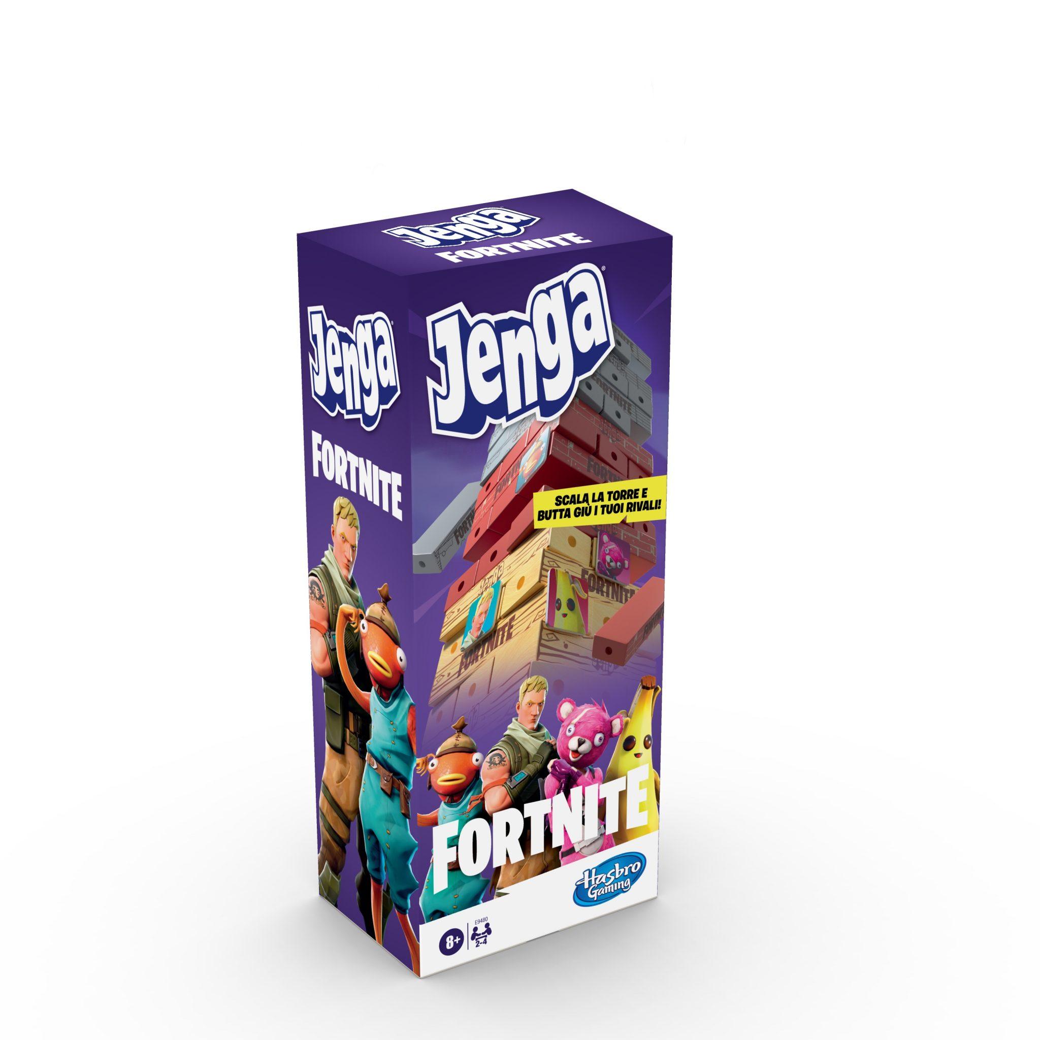 Jenga incontra Fortnite nella nuova versione del gioco da tavolo thumbnail
