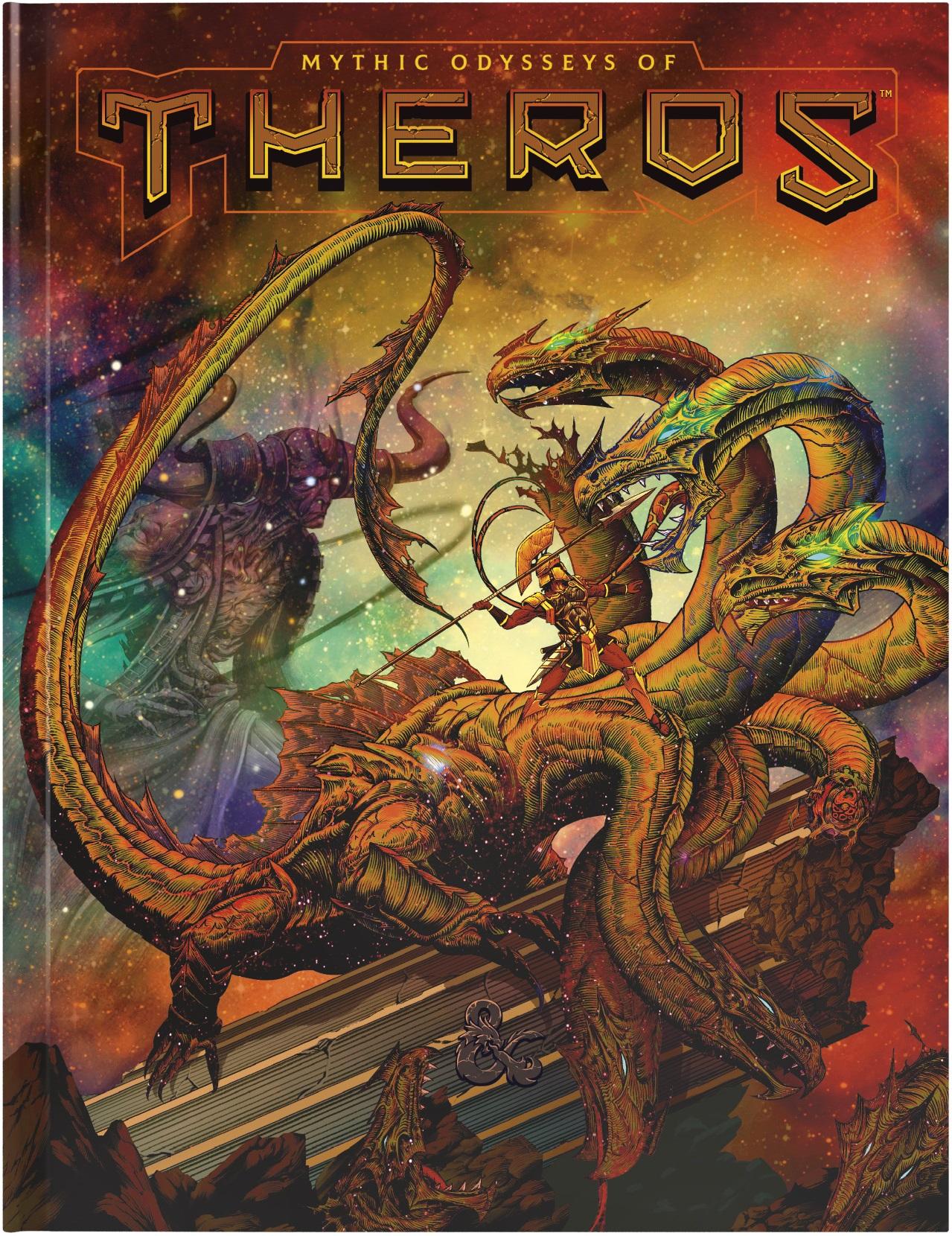 magic the gathering d&d theros