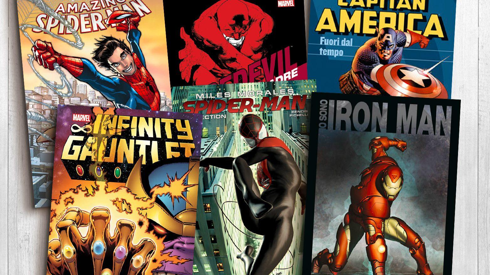 A casa con Panini Comics e il mondo Marvel thumbnail