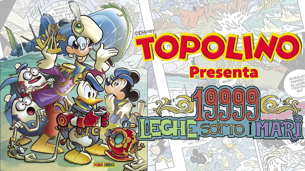 19.999 leghe sotto i mari, Topolino si ispira a Jules Verne thumbnail