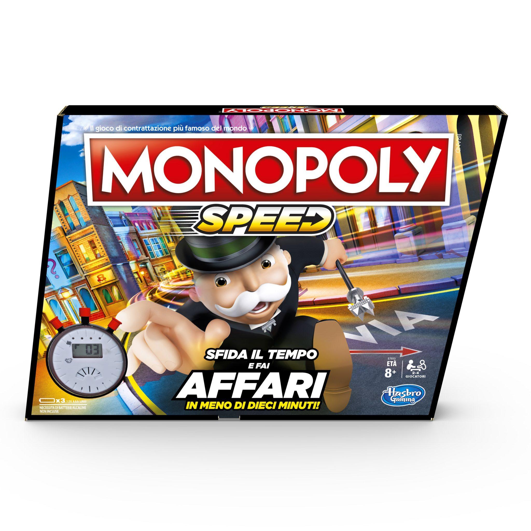 Anche in Italia arriva la versione veloce di Monopoly thumbnail