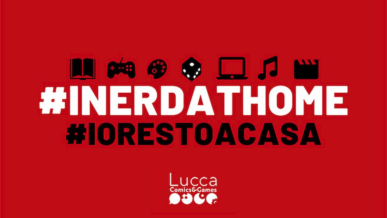 Restate a casa, lo dice anche Lucca Comics and Games thumbnail
