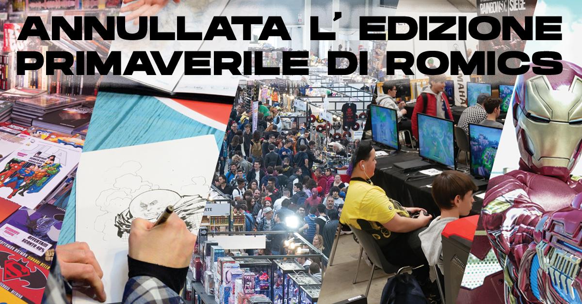 Annullato il Romics 2020 per l'edizione primaverile thumbnail