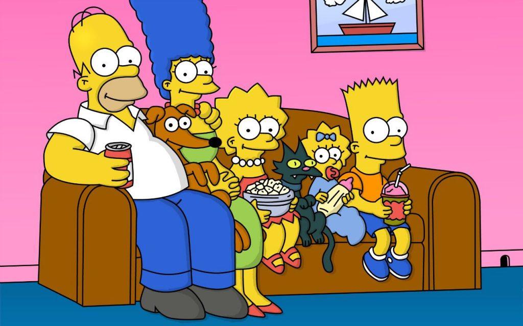 Simpson divano serie tv lunghe