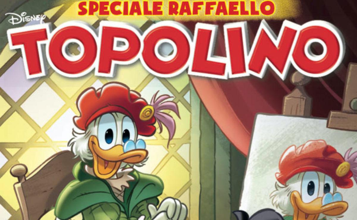 Zio Paperone e la pietra dell'oltreblù, una storia dedicata a Raffaello Sanzio thumbnail