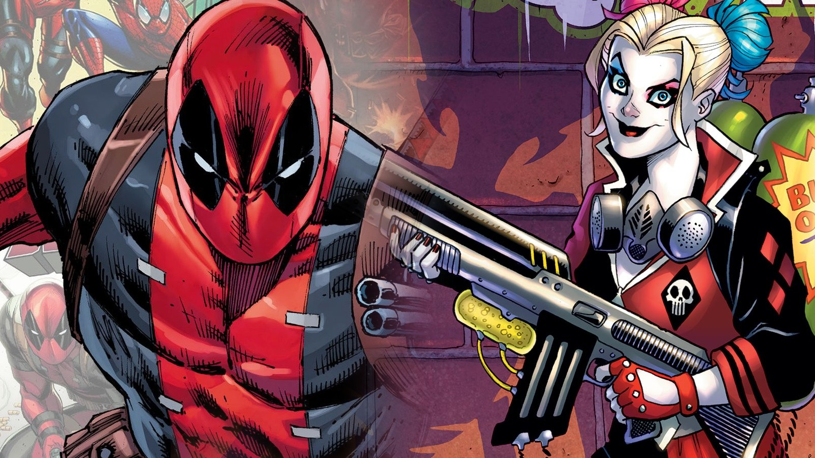 Deadpool e Harley Quinn insieme per beneficenza thumbnail