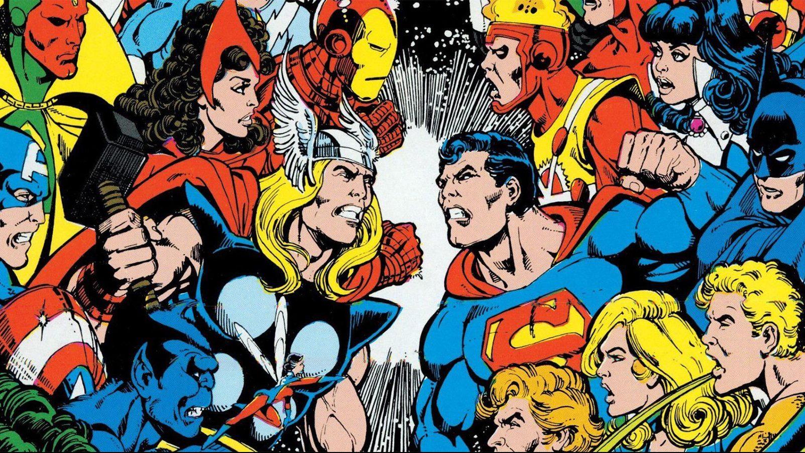 Il 'crossover involontario' tra Marvel e DC Comics arriva su eBay thumbnail