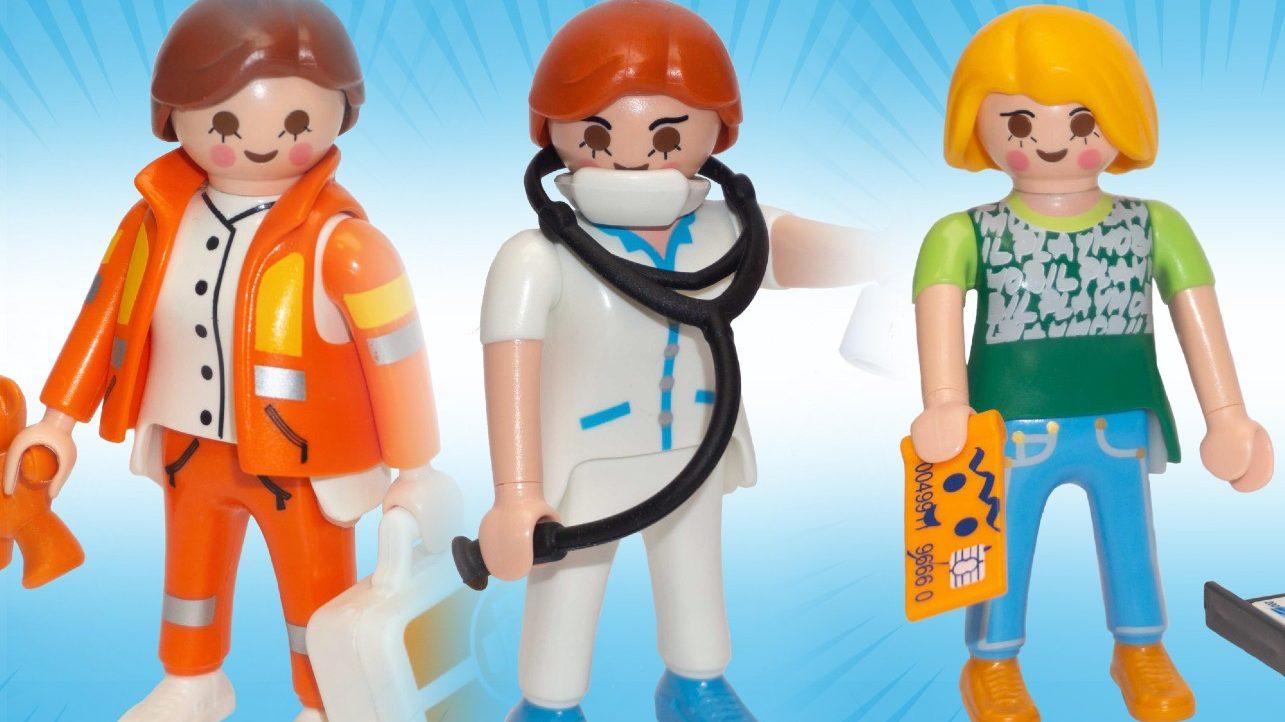 Playmobil lancia una serie dedicata agli Eroi del Coronavirus thumbnail