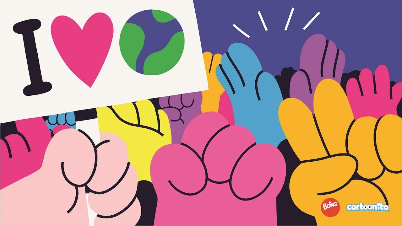 Salva il pianeta, diventa un eroe, la nuova campagna di Boing e Cartoonito thumbnail