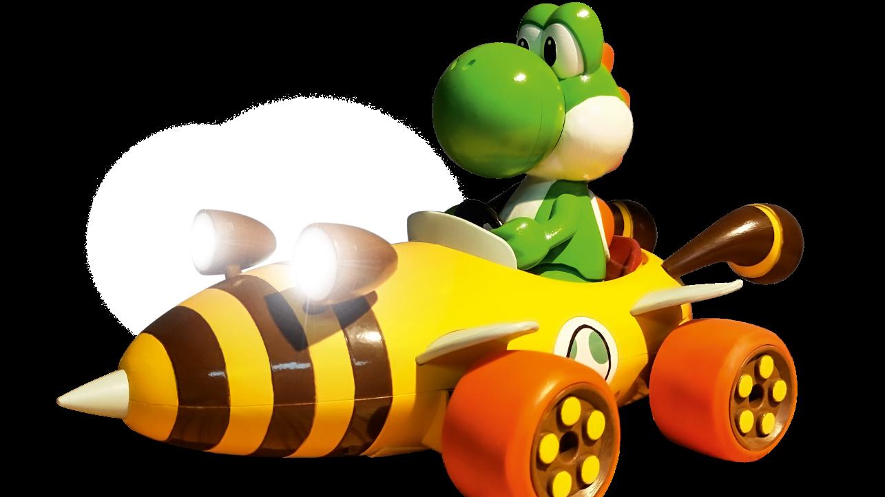 Yoshi sfreccia su un nuovo bolide radiocomandato thumbnail