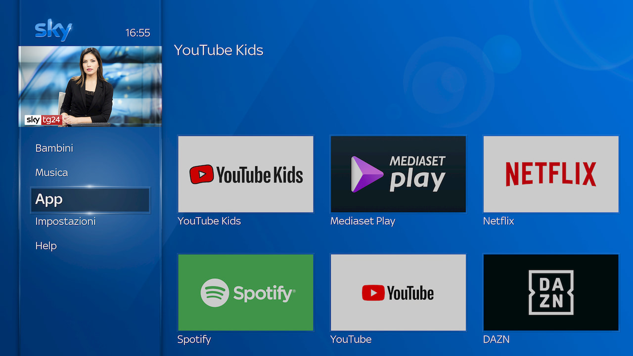 YouTube Kids debutta su Sky Q thumbnail