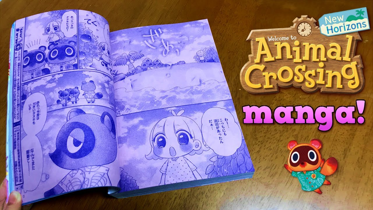 Animal Crossing diventa un manga thumbnail