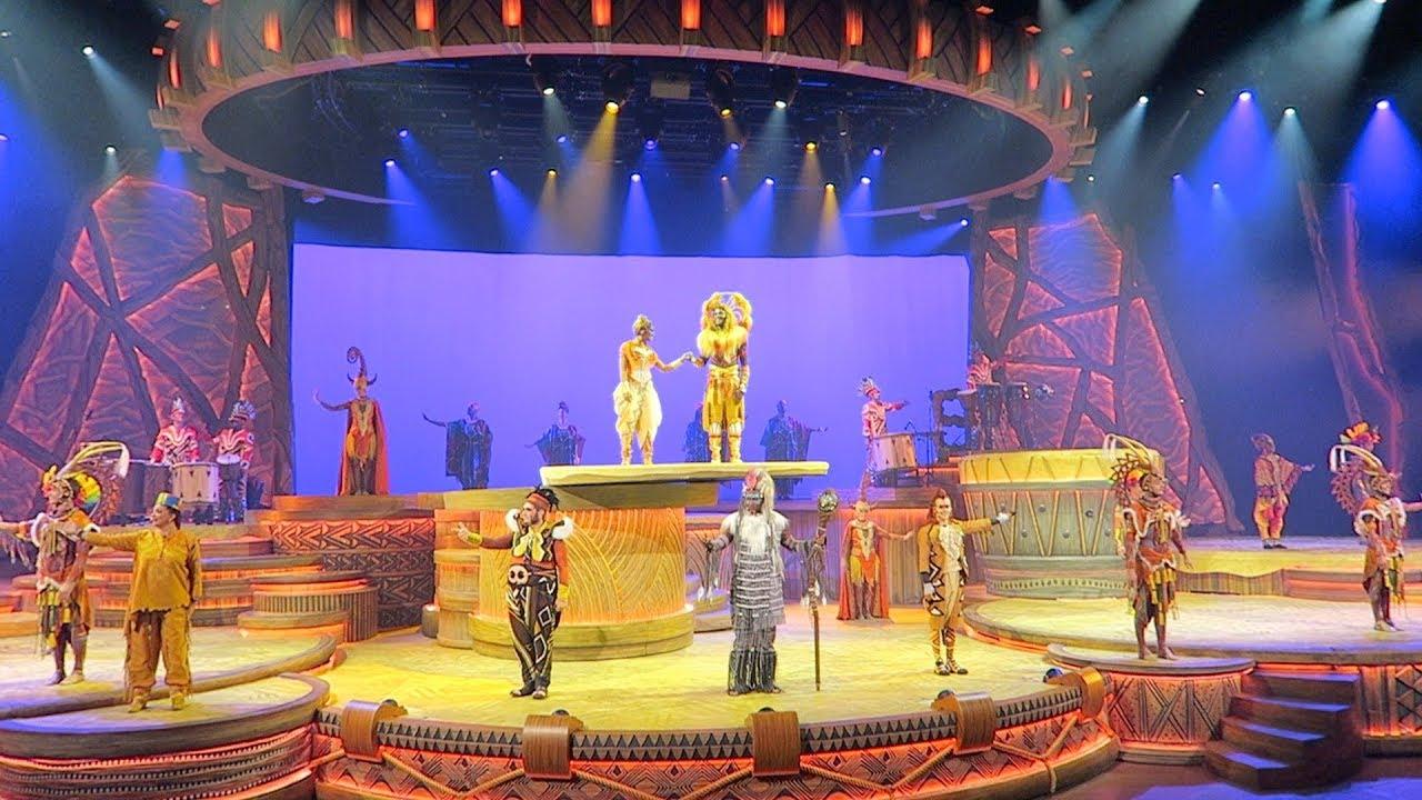 Il Re Leone: lo show proposto a Disneyland Paris è online thumbnail