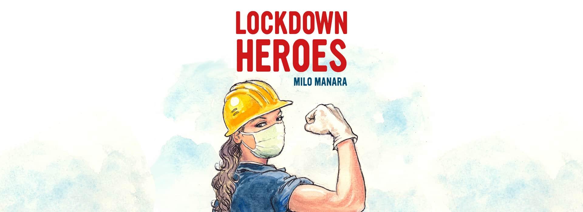 Lockdown Heroes, il portfolio di Milo Manara thumbnail