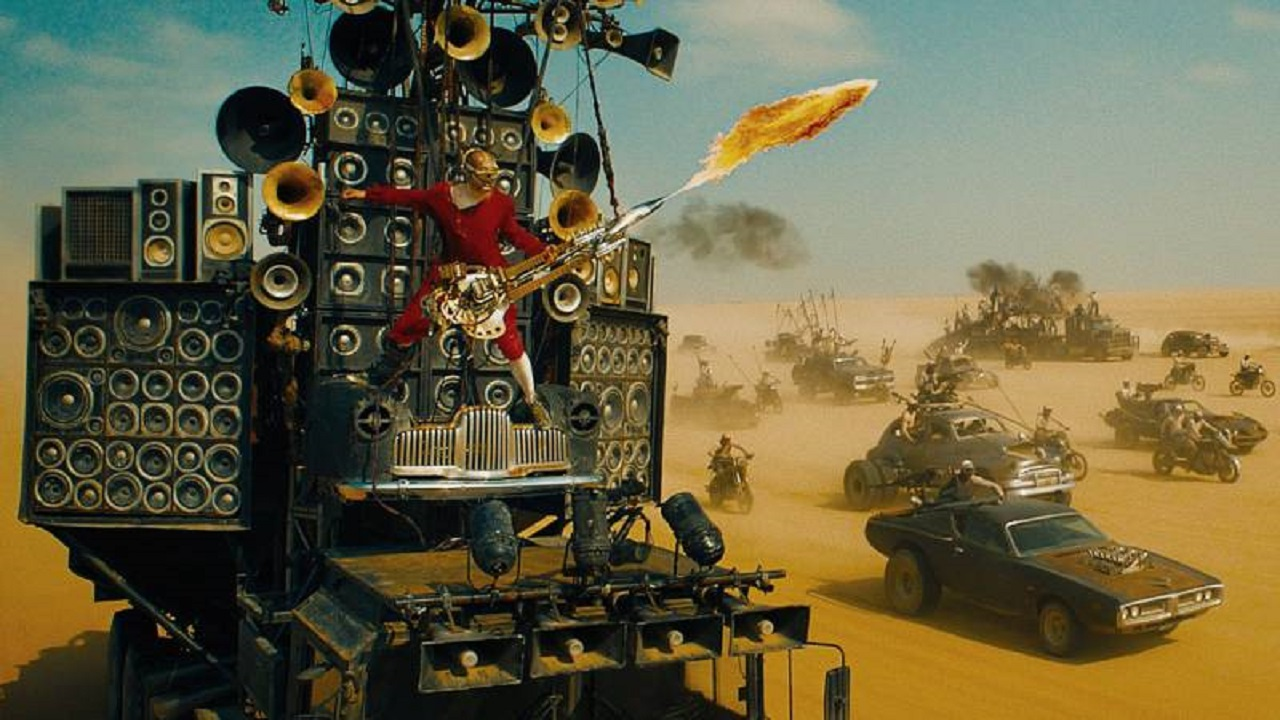 Mad Max: Fury Road, il chitarrista ha rischiato di essere tagliato dal film thumbnail