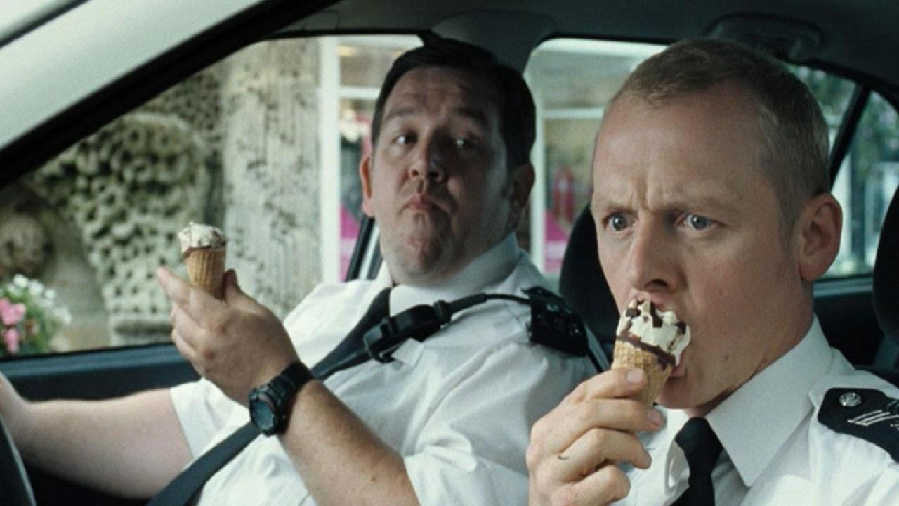 Simon Pegg svela le sue idee per un sequel di Hot Fuzz thumbnail