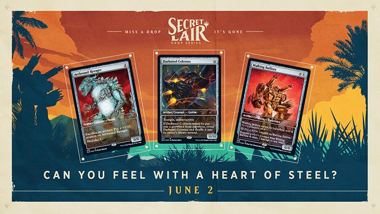 Summer Superdrop Heart of steel Magic