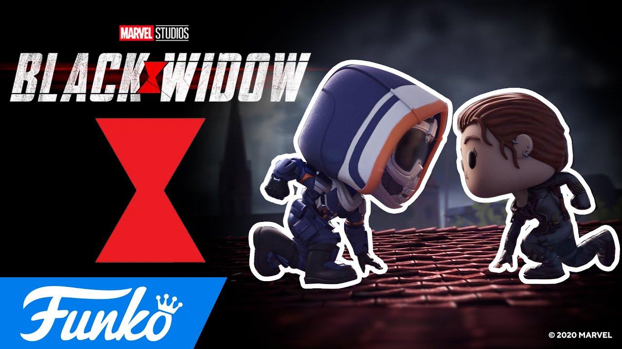 Vedova Nera affronta Taskmaster nel nuovo corto di Funko su Black Widow thumbnail