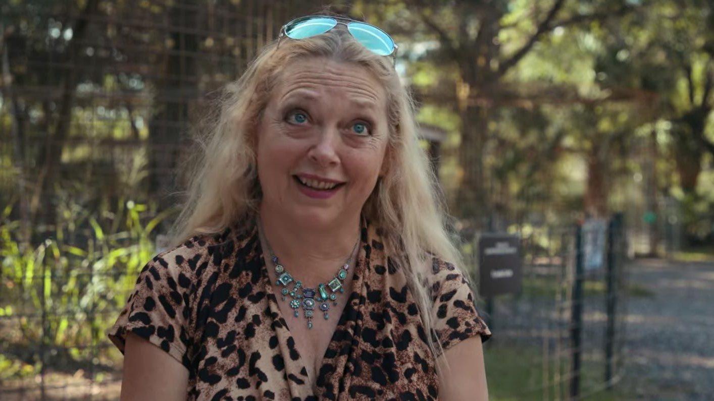 Carole Baskin intervistata da Jimmy Fallon, ma è uno scherzo thumbnail