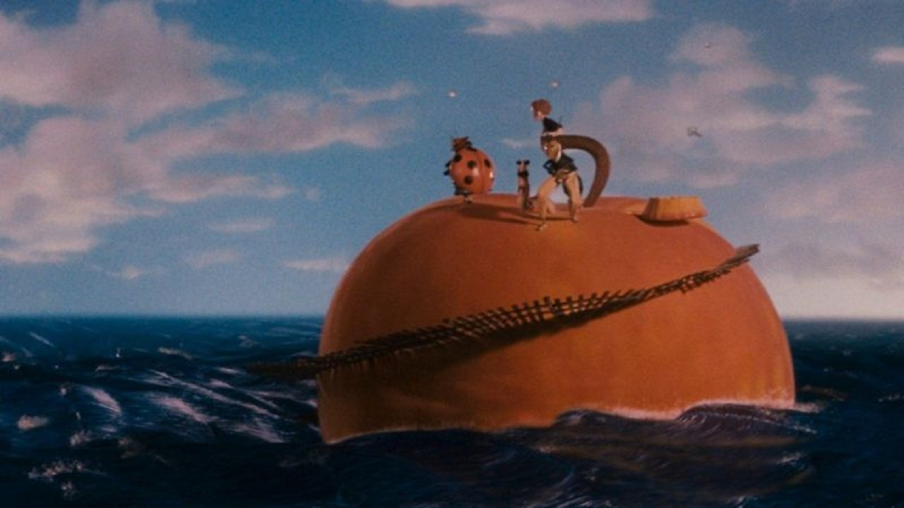 Le stelle del cinema leggeranno James e la pesca gigante thumbnail