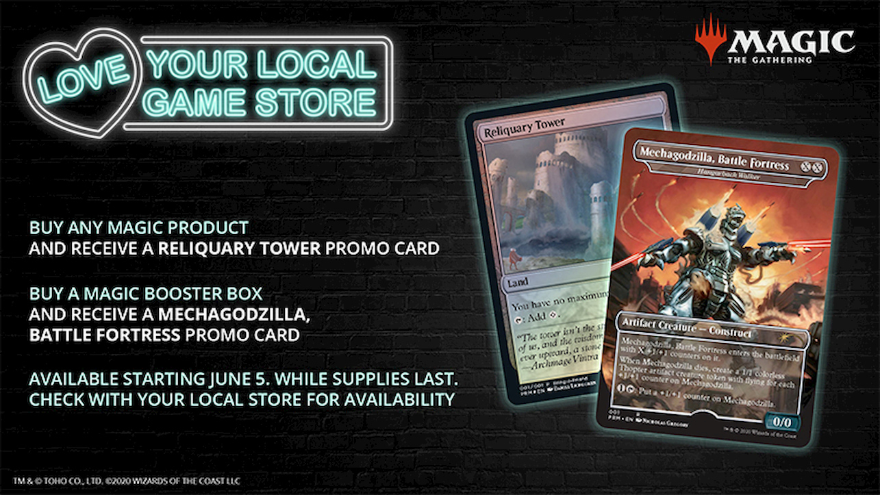 Magic: the Gathering supporta i negozi fisici thumbnail