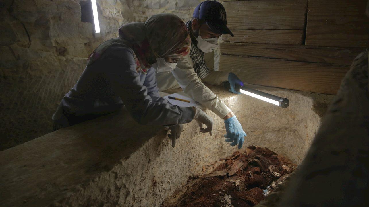 Su National Geographic la prima camera funeraria egizia ritrovata intatta thumbnail