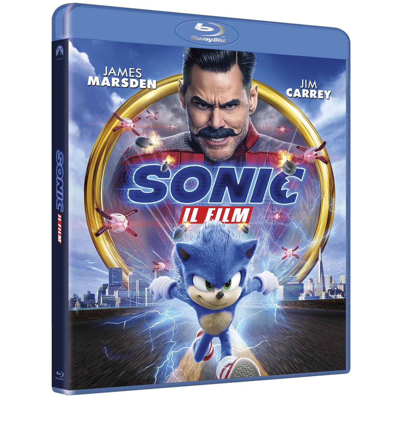 sonic film dvd blu-ray italia