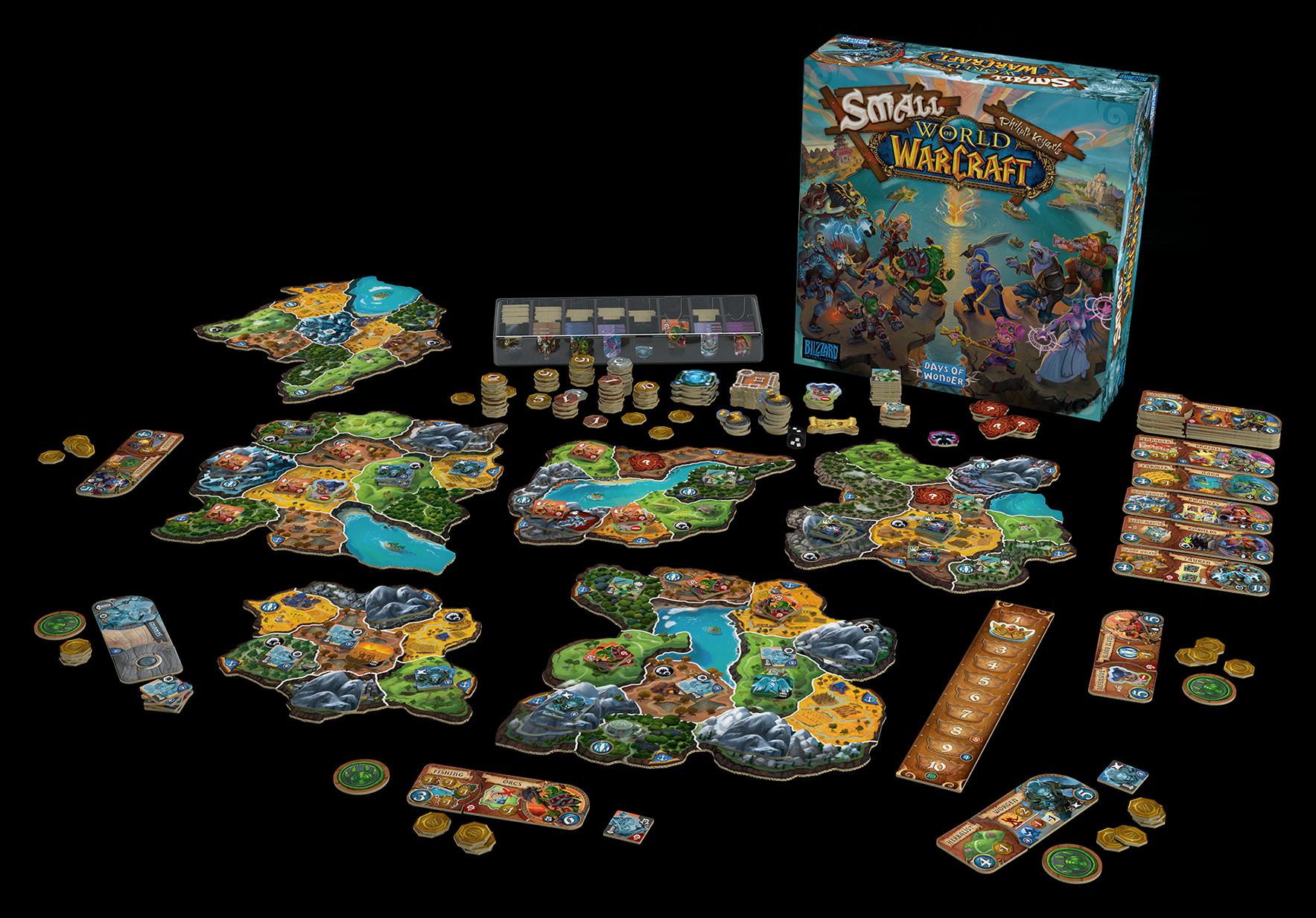 warcraft gioco da tavolo days of wonder